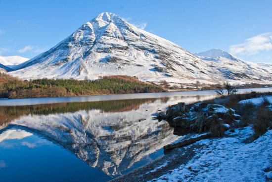 Crummock Water - reflections of mountain