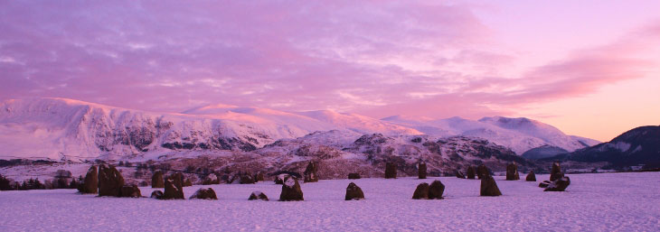 Castlerigg Stone Circle, Near Keswick, Lake District, Cumbria