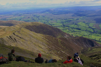 Looking down towards Doddick Fell, Blencathra
