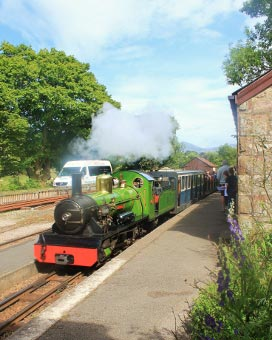 La'al Rattie, Ravenglass and Eskdale Railway