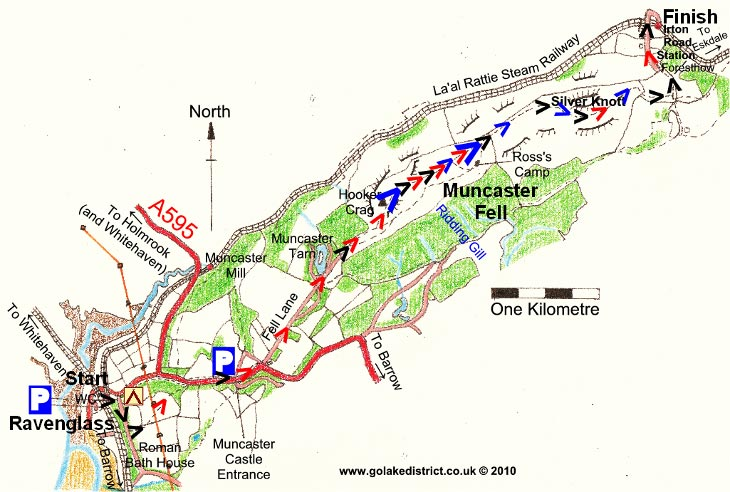 Muncaster Fell map