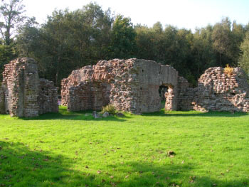 Roman Bath House remains at Ravenglass