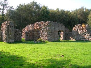 Roman Bath House remains at Ravenglass