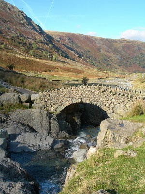 Stockley Bridge, Borrowdale Valley, Lake District