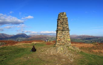 Summit Monument on Latterbarrow