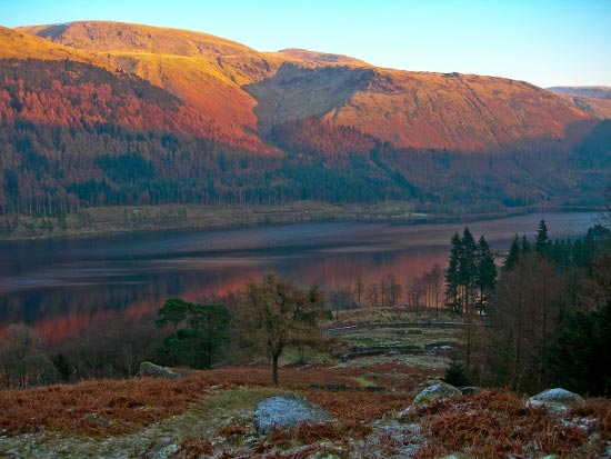Sunset at Thirlmere