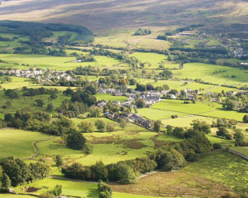 Village of Threlkeld, Lake District