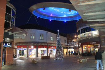 Workington's redeveloped town centre