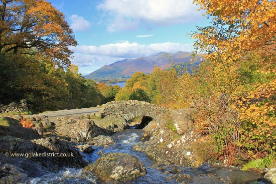 Ashness Bridge, Borrowdale, Lake District