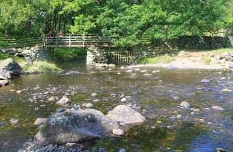 Bridge of Watendlath Beck, Borrowdale, Cumbria
