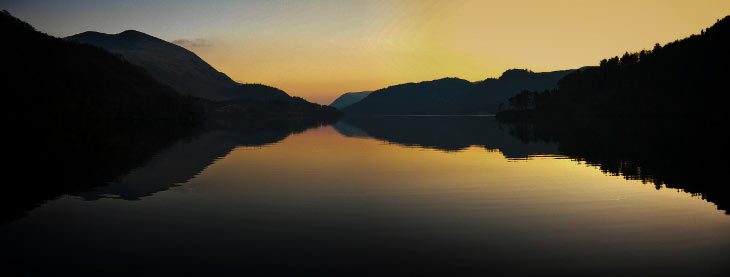 Dusk at Thirlmere