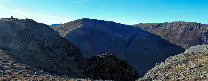 High Spy (left); Dale Head (centre); Hindscarth (right)