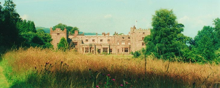 Meadow at Muncaster Castle, Ravenglass, Lake District