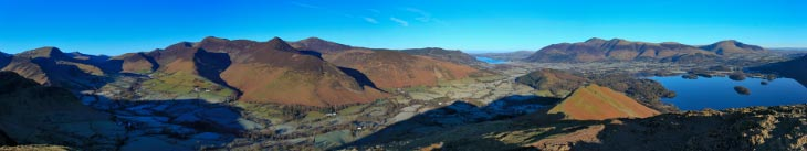 Stunning views from Catbells