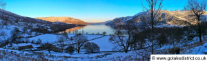Ullswater en route to Seldom Seen, Lake District