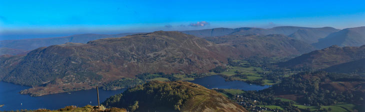 Part of the view from Heron Pike, Lake District